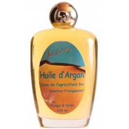 Huile d'argan vierge parfumée