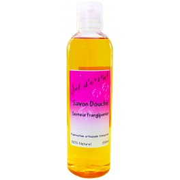 Savon liquide naturel BIO senteur frangipanier